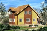 Проект брусовой дом 7х11