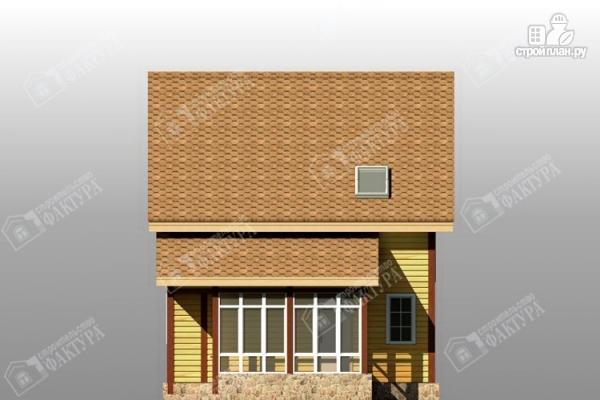 Фото 5: проект брусовой дом 7х11
