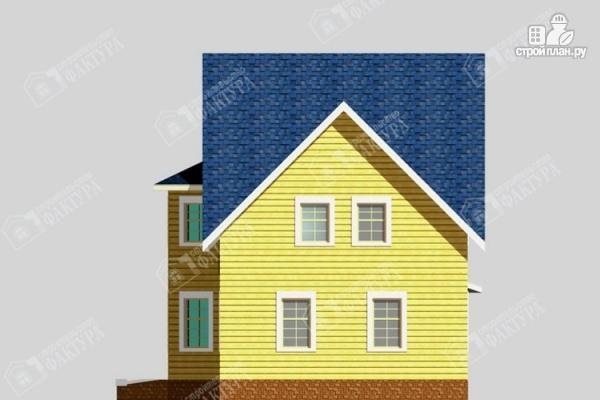 Фото 5: проект брусовой дом с эркером
