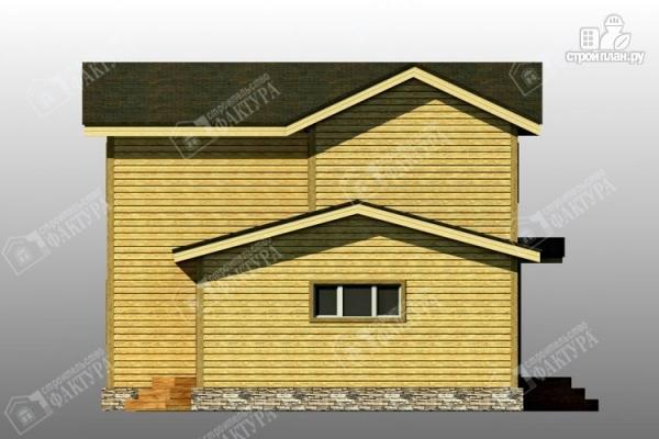 Фото 7: проект брусовой дом с гаражом