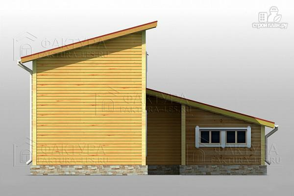 Фото 6: проект узкий дом с гаражом