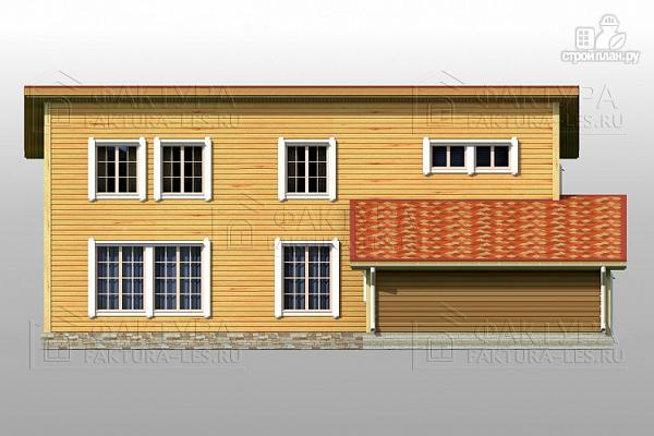 Фото 5: проект узкий дом с гаражом