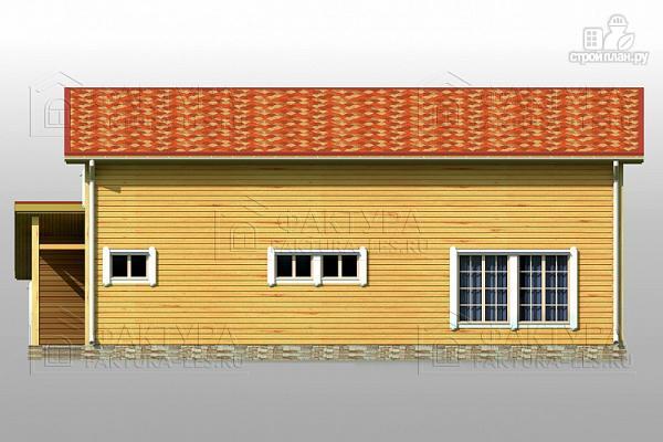 Фото 7: проект узкий дом с гаражом