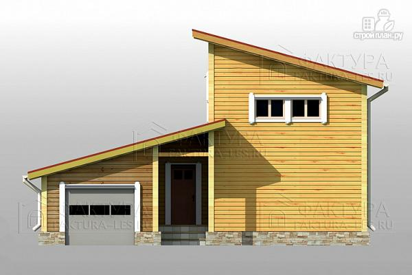 Фото 8: проект узкий дом с гаражом