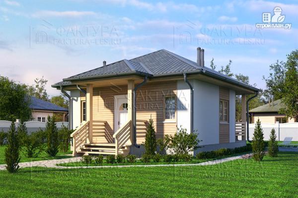 Фото: проект дом каркасный