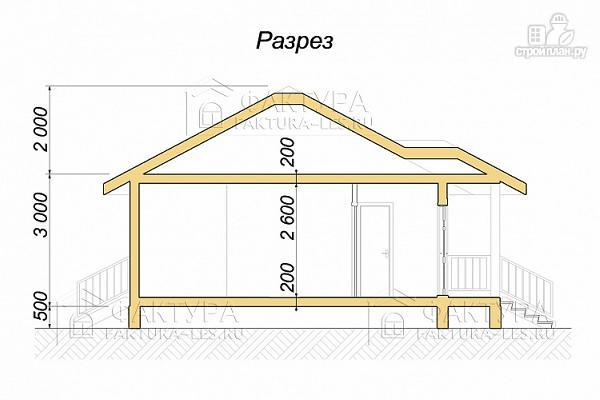 Фото 3: проект дом каркасный