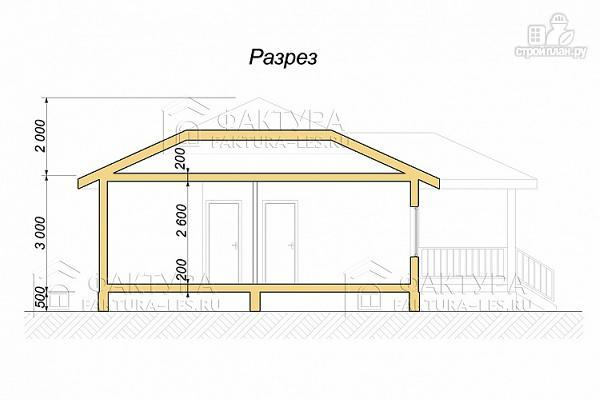 Фото 3: проект дом каркасный одноэтажный