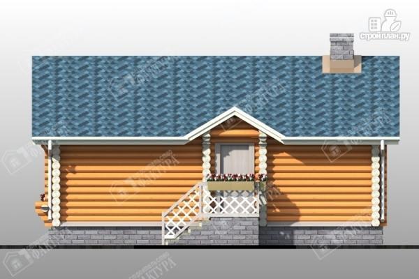 Фото 4: проект бревенчатая баня