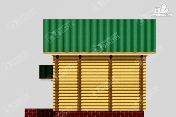 Фото 5: проект дом-баня из бревна