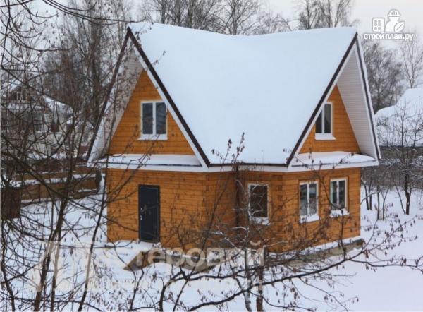 Фото 4: проект дом из бруса с мансардой