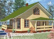 Проект дом 9х9 из бруса