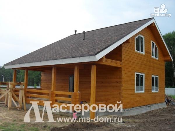 Фото 5: проект дом 9х12 из бруса