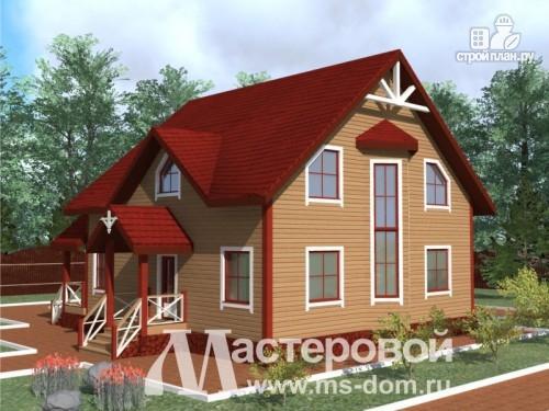Фото: проект дом из бруса для большой и дружной семьи