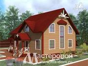 Проект дом из бруса для большой и дружной семьи