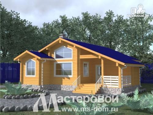 Фото: проект дом со скандинавским мотивом