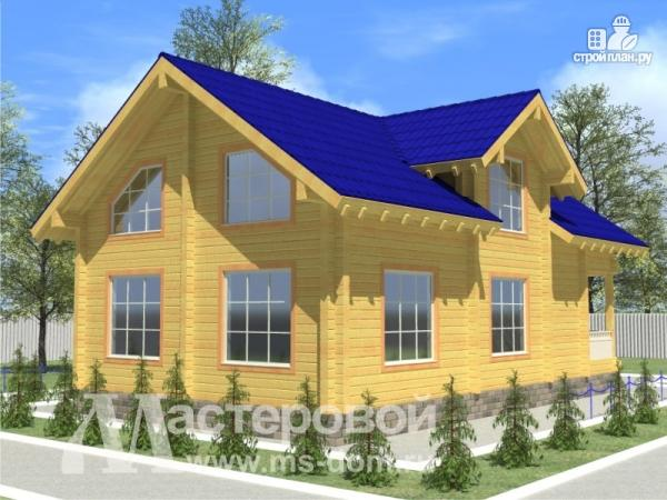 Фото 4: проект деревянный дом 9х14 из бруса