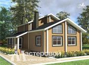 Фото: деревянный дом 8х11 из бруса