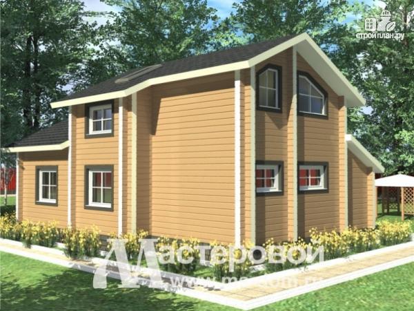 Фото 4: проект деревянный дом 8х11 из бруса