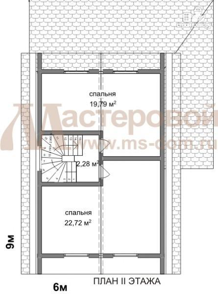 Фото 3: проект дом из бруса для дачного отдыха