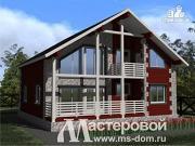 Проект дом 11х12 из клеенного бруса