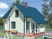 Фото: дачный дом из бруса