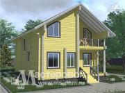 Фото: брусовой дом для круглогодичного проживания