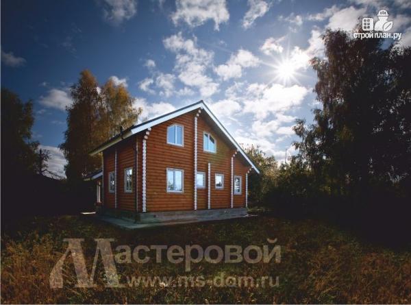 Фото 5: проект деревянный дом-шале из бревна