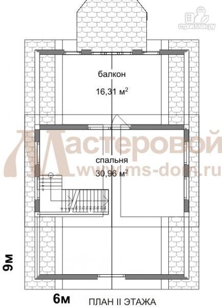 Фото 3: проект дом-баня 6х9 из бруса