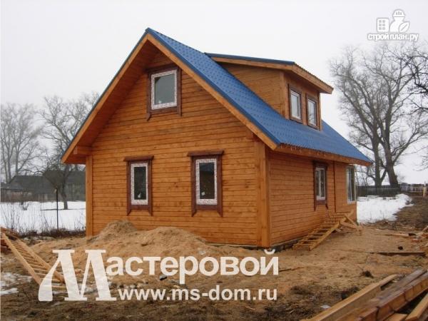 Фото 5: проект дом-баня 6х9 из бруса
