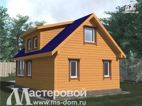 Фото 4: проект дом-баня 6х9 из бруса
