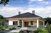 Проект одноэтажный каркасный дом по канадской технологии