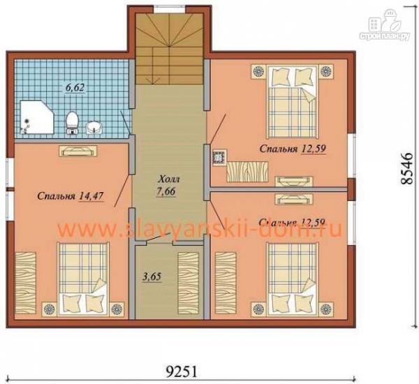 Фото 3: проект жилой дом из сэндвич-панелей, с навесом для машины и террасой