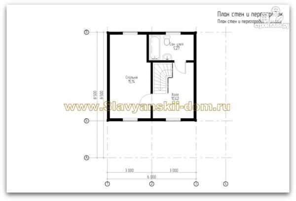 Фото 3: проект жилой дом из сэндвич-панелей с угловой террасой