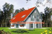 Фото: жилой дом из сэндвич-панелей