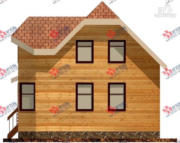 Фото 4: проект дом 6х8 из бруса