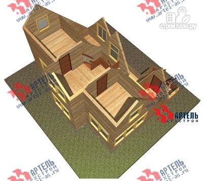 Фото 7: проект дом 6х10 из бруса