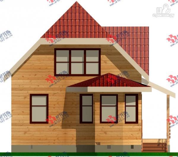 Фото 2: проект дом 7х7 из бруса