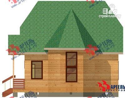 Фото 3: проект дом 6х8 из бруса