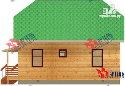 Фото 4: проект дом 6х9 из бруса