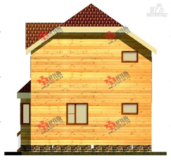 Фото 5: проект двухэтажный дом 7х9 из бруса