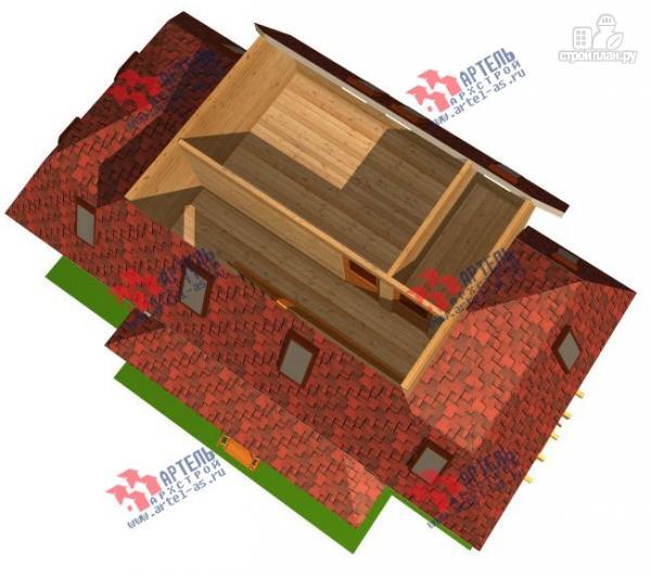Фото 4: проект трёхэтажный дом 6х14 из бруса