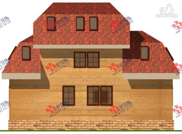 Фото 7: проект трёхэтажный дом 6х14 из бруса