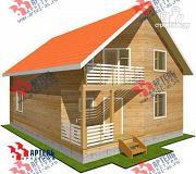Проект дом 9х11 из бруса