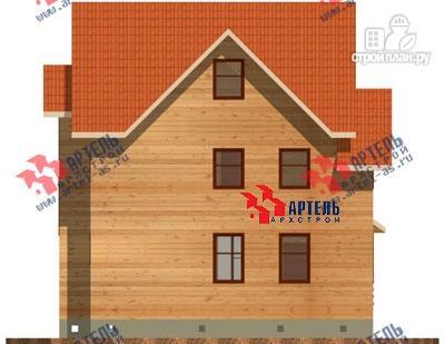Фото 5: проект трёхэтажный дом 8х9 из бруса