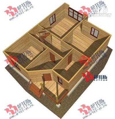 Фото 6: проект дом 9х11 из бруса