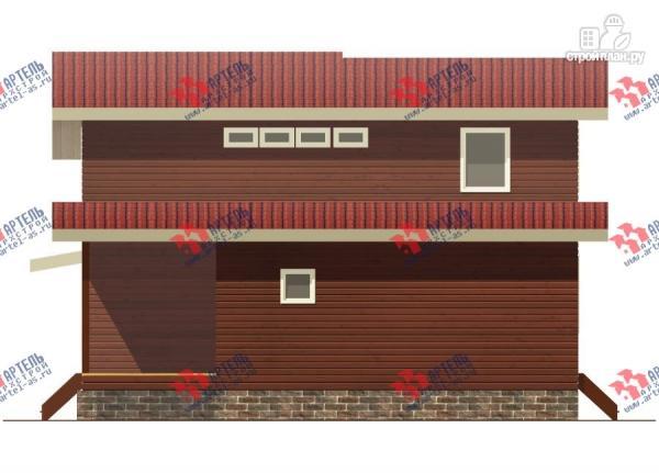Фото 7: проект дом из бруса, с парилкой
