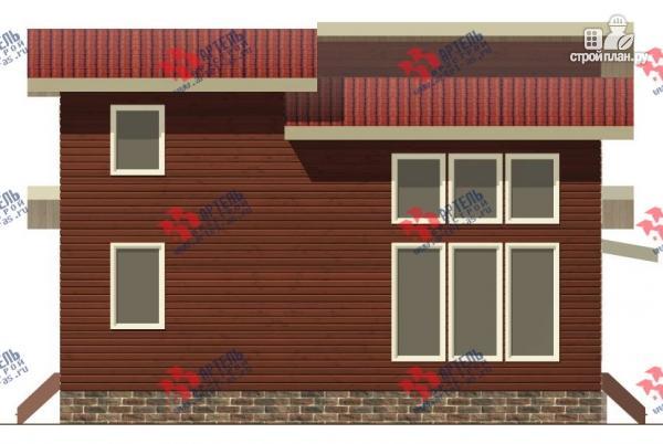 Фото 5: проект дом из бруса, с парилкой