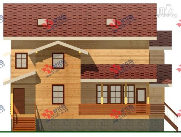 Фото 6: проект трёхэтажный дом из бруса для большой семьи