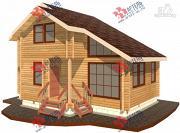 Проект дом из профилированного бруса
