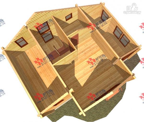 Фото 7: проект дом из профилированного бруса